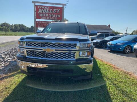 2014 Chevrolet Silverado 1500 for sale at Todd Nolley Auto Sales in Campbellsville KY