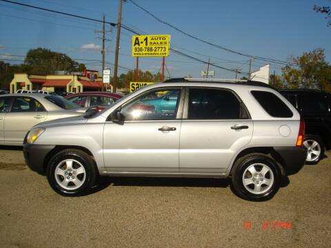 2008 Kia Sportage for sale at A-1 Auto Sales in Conroe TX