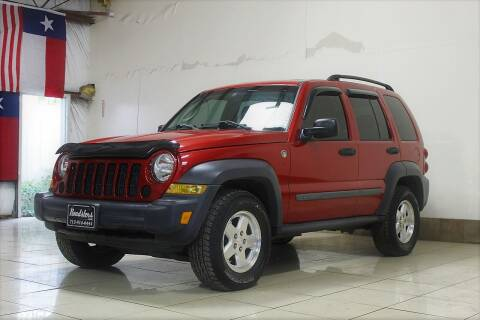 2006 Jeep Liberty for sale at ROADSTERS AUTO in Houston TX