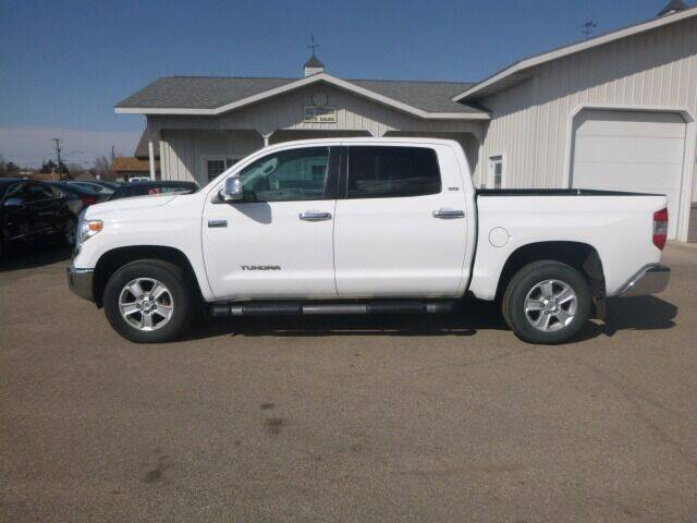 2016 Toyota Tundra for sale at JIM WOESTE AUTO SALES & SVC in Long Prairie MN