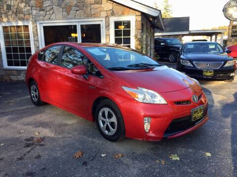 2014 Toyota Prius for sale at Bladecki Auto in Belmont NH