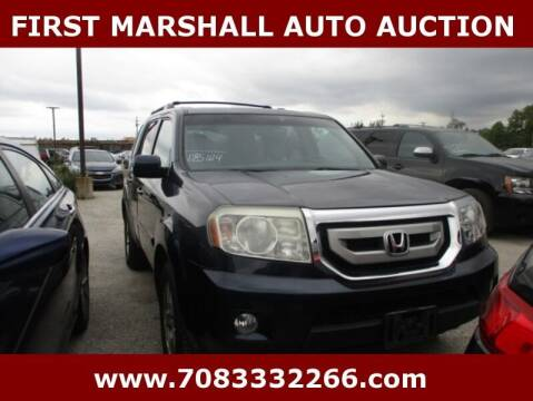 2011 Honda Pilot for sale at First Marshall Auto Auction in Harvey IL