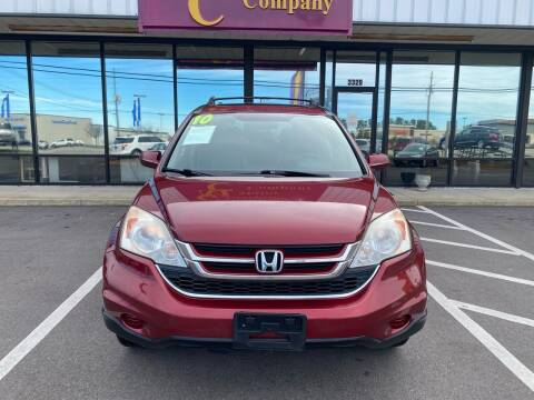 2010 Honda CR-V for sale at Greenville Motor Company in Greenville NC
