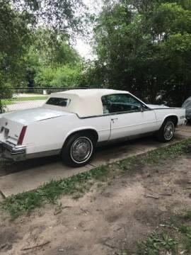 1985 Cadillac Eldorado for sale at Classic Car Deals in Cadillac MI