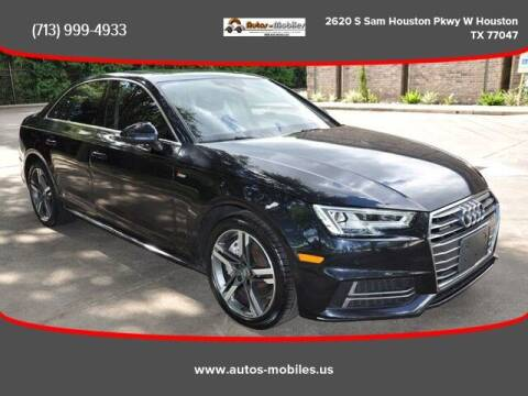 2017 Audi A4 for sale at AUTOS-MOBILES in Houston TX