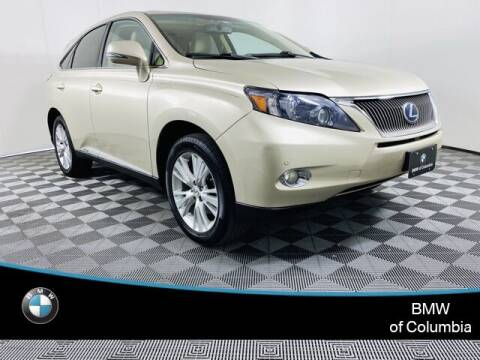 2012 Lexus RX 450h for sale at Preowned of Columbia in Columbia MO