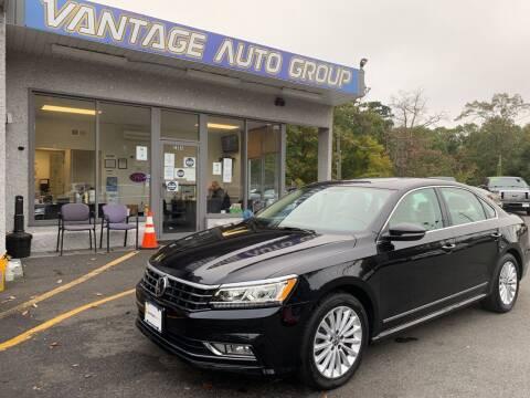 2017 Volkswagen Passat for sale at Vantage Auto Group in Brick NJ