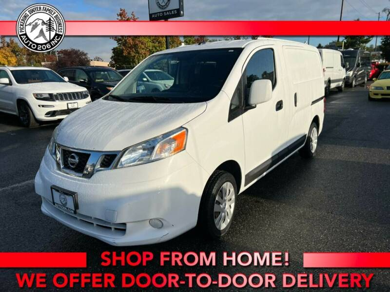 2015 Nissan NV200 for sale at Auto 206, Inc. in Kent WA