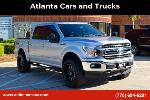 2018 Ford F-150 for sale at Atlanta Cars and Trucks in Kennesaw GA