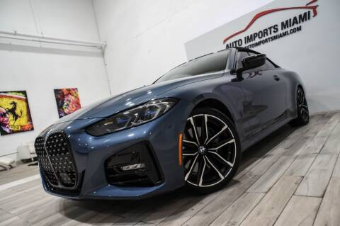 2021 BMW 4 Series for sale at AUTO IMPORTS MIAMI in Fort Lauderdale FL