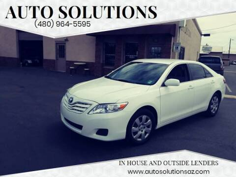 2011 Toyota Camry for sale at Auto Solutions in Mesa AZ