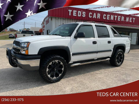 2004 Chevrolet Avalanche for sale at TEDS CAR CENTER in Athens AL