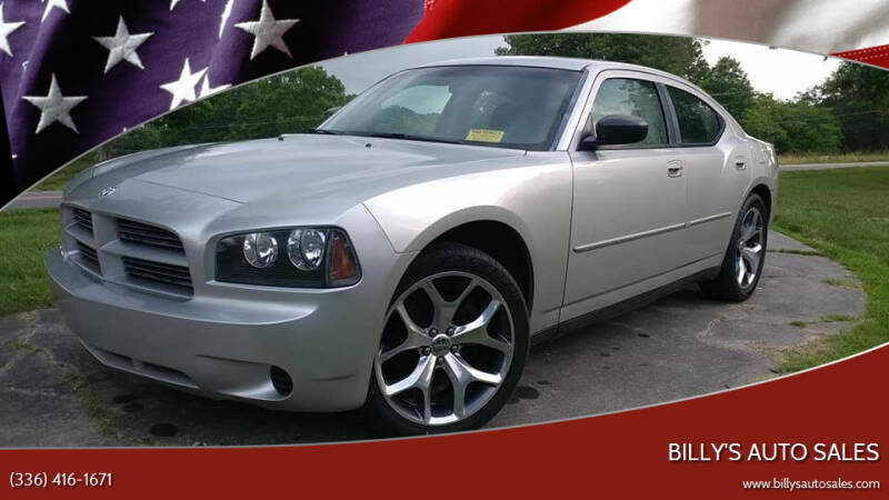2010 Dodge Charger for sale at Billy's Auto Sales in Winston Salem NC
