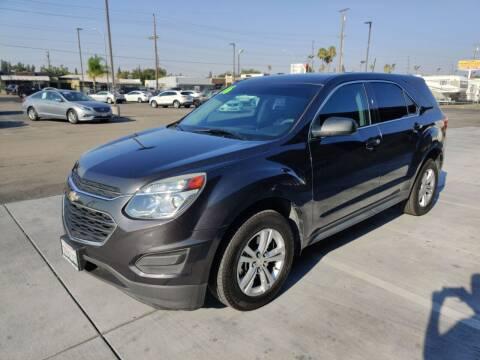 2016 Chevrolet Equinox for sale at California Motors in Lodi CA