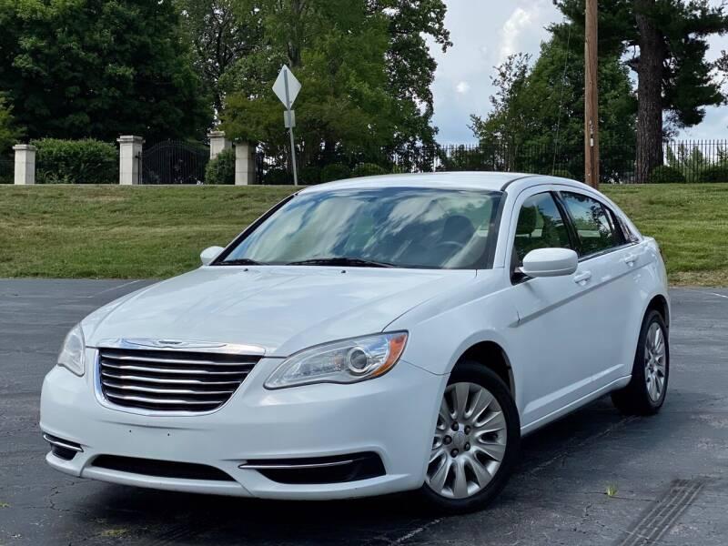 2014 Chrysler 200 for sale at Sebar Inc. in Greensboro NC