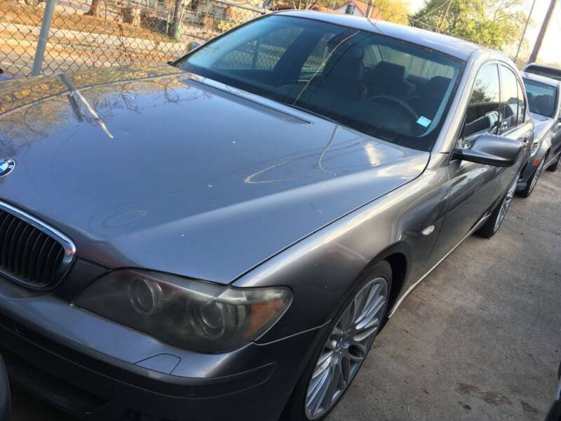 2008 BMW 7 Series for sale at Carzready in San Antonio TX
