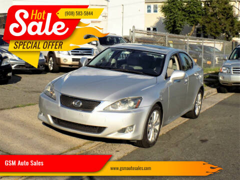 2006 Lexus IS 250 for sale at GSM Auto Sales in Linden NJ