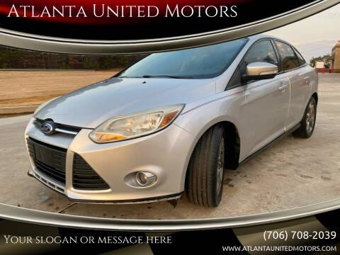 2014 Ford Focus for sale at Atlanta United Motors in Jefferson GA