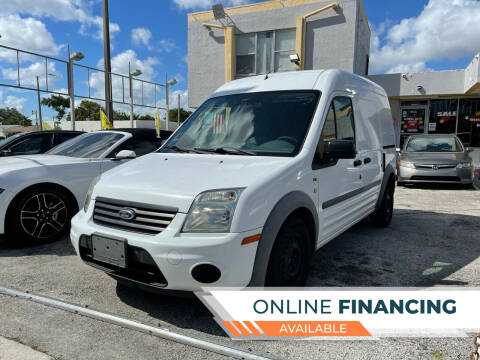 2012 Ford Transit Connect for sale at Global Auto Sales USA in Miami FL