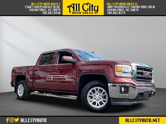 2014 GMC Sierra 1500 for sale at All City Auto Sales in Indian Trail NC