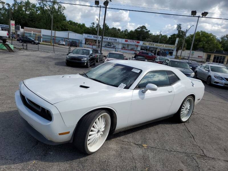 2012 Dodge Challenger for sale at Castle Used Cars in Jacksonville FL