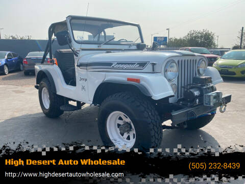 1972 Jeep Wrangler for sale at High Desert Auto Wholesale in Albuquerque NM