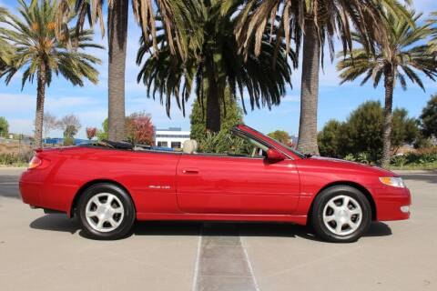 2002 Toyota Camry Solara for sale at Miramar Sport Cars in San Diego CA