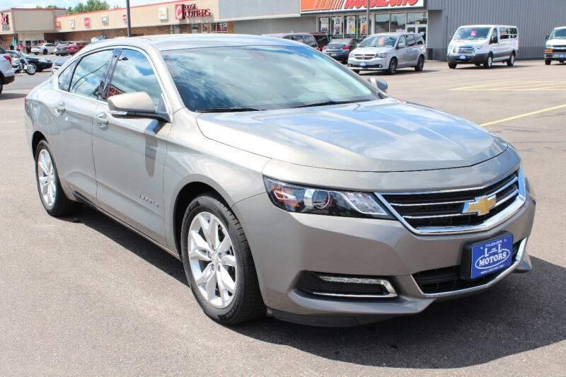 2019 Chevrolet Impala for sale at L & L MOTORS LLC - REGULAR INVENTORY in Wisconsin Rapids WI