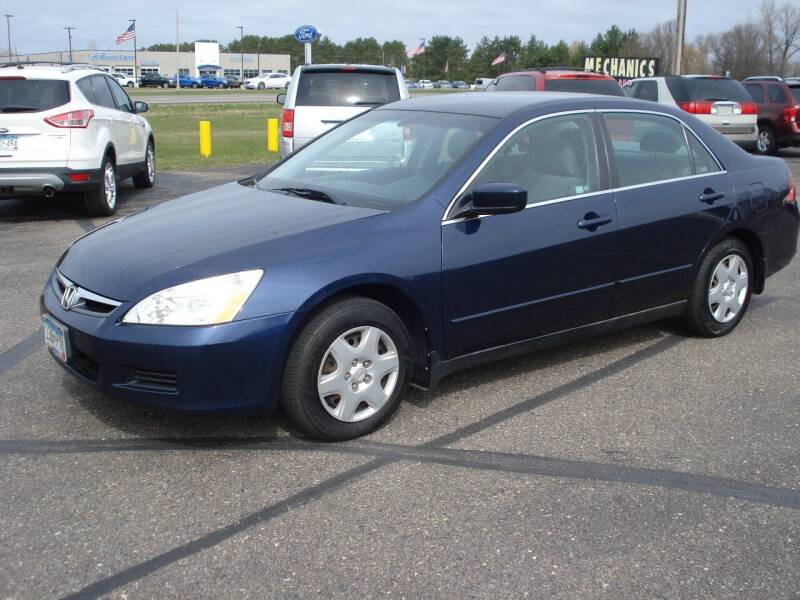 2007 Honda Accord for sale at North Star Auto Mall in Isanti MN