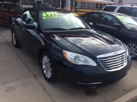 2012 Chrysler 200 Convertible for sale at Harrison Family Motors in Topeka KS