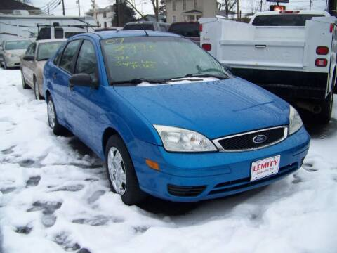 2007 Ford Focus for sale at Collector Car Co in Zanesville OH