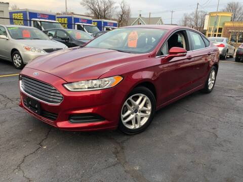 2014 Ford Fusion for sale at Fine Auto Sales in Cudahy WI
