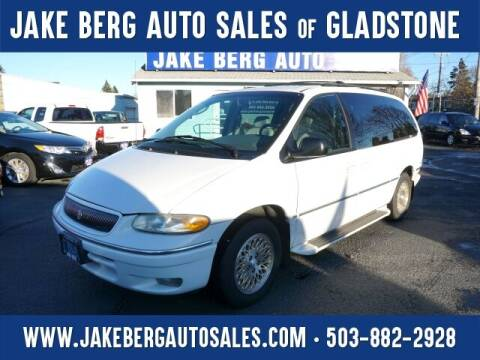 1997 Chrysler Town and Country for sale at Jake Berg Auto Sales in Gladstone OR