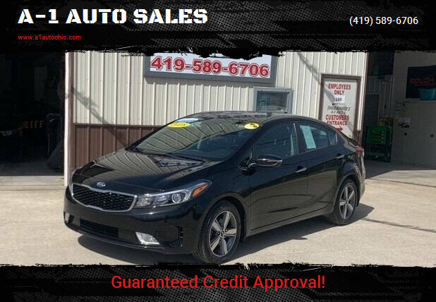 2018 Kia Forte for sale at A-1 AUTO SALES in Mansfield OH