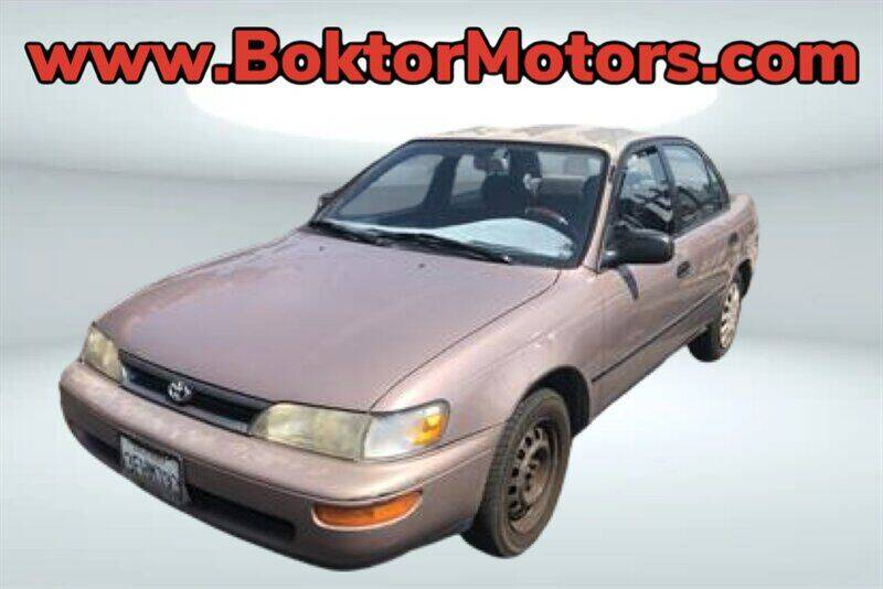 1993 Toyota Corolla for sale at Boktor Motors in North Hollywood CA