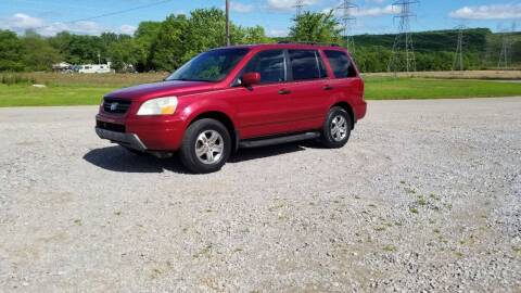 2005 Honda Pilot for sale at Tennessee Valley Wholesale Autos LLC in Huntsville AL