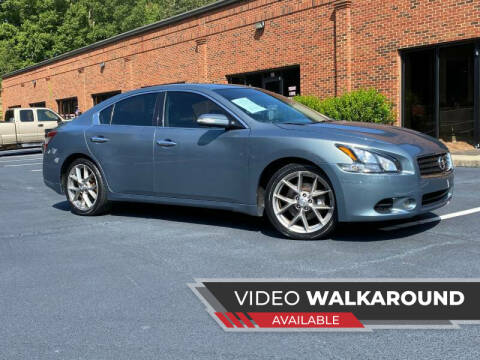 2011 Nissan Maxima for sale at Selective Imports in Woodstock GA