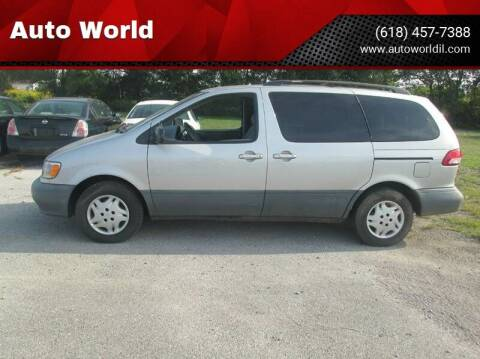 2003 Toyota Sienna for sale at Auto World in Carbondale IL