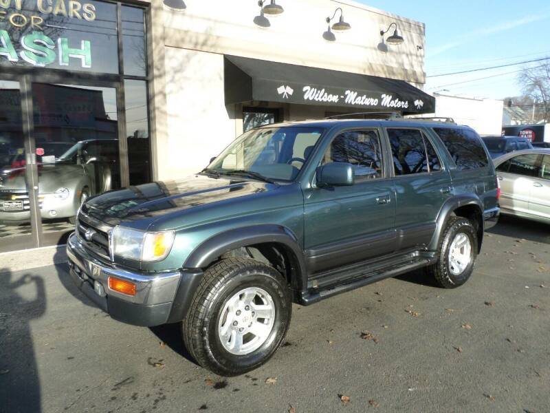 1997 Toyota 4Runner for sale at Wilson-Maturo Motors in New Haven Ct CT