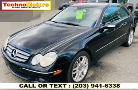 2008 Mercedes-Benz CLK for sale at Techno Motors in Danbury CT