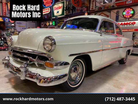 1954 Chevrolet 210 for sale at Rock Hard Motors Inc in Treynor IA