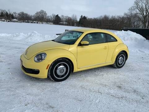 2013 Volkswagen Beetle for sale at Ultimate Auto Sales in Crown Point IN