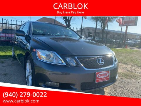 2007 Lexus GS 450h for sale at CARBLOK in Lewisville TX