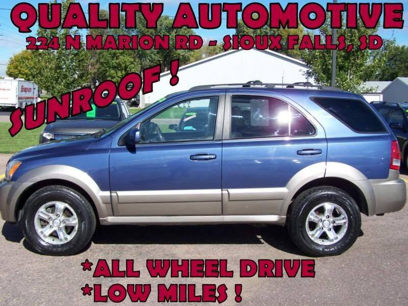 2006 Kia Sorento for sale at Quality Automotive in Sioux Falls SD