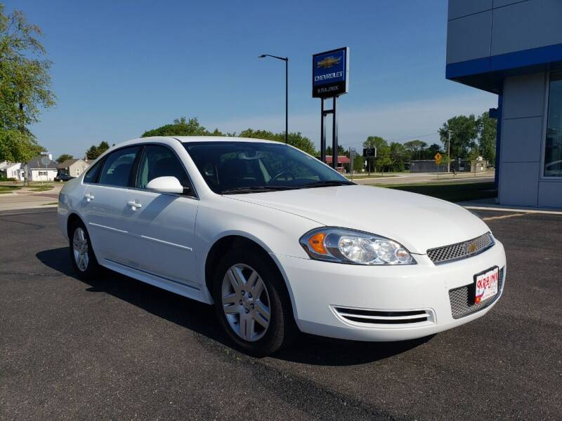 2014 Chevrolet Impala Limited for sale at Krajnik Chevrolet inc in Two Rivers WI