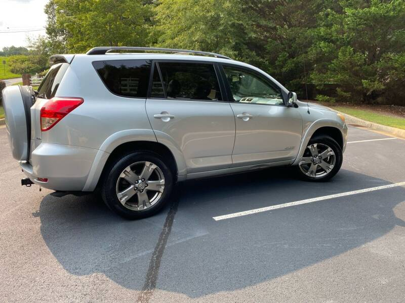 2008 Toyota RAV4 for sale at Paramount Autosport in Kennesaw GA
