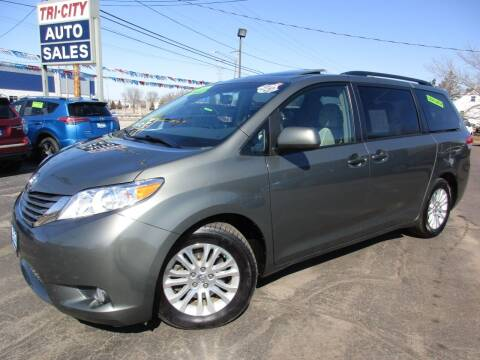 2012 Toyota Sienna for sale at TRI CITY AUTO SALES LLC in Menasha WI