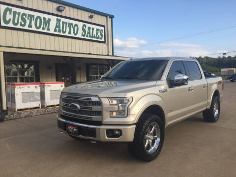 2017 Ford F-150 for sale at Custom Auto Sales - AUTOS in Longview TX