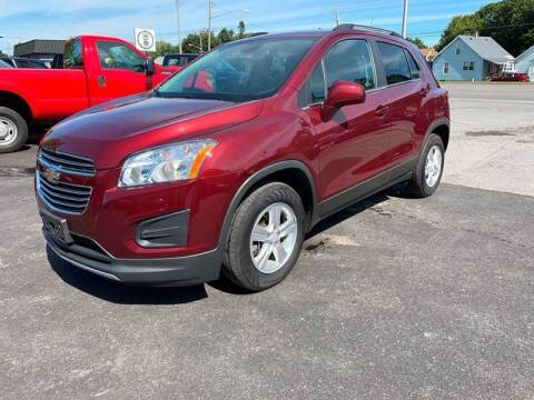 2016 Chevrolet Trax for sale at Bravo Auto Sales in Whitesboro NY
