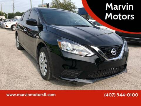 2016 Nissan Sentra for sale at Marvin Motors in Kissimmee FL